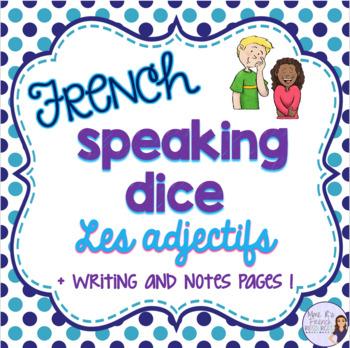 French adjective speaking activity ACTIVITÉ ORALE LES ADJECTIFS