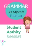 French adjectives les adjectifs printables