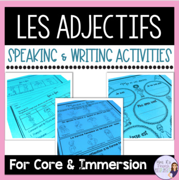 French Adjective Agreement Teaching Resources Teachers Pay Teachers