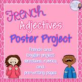 French adjectives writing project / Projet d'écriture pour les adjectifs