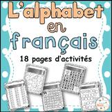 French alphabet - Cahier d'activités de l'élève - L'alphabet en français