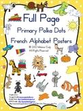 French alphabet posters / affiches de l'alphabet français