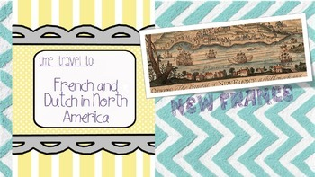 French and Dutch in North America