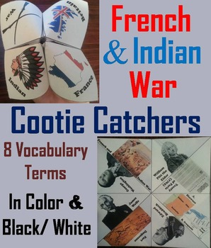 French and Indian War Activity/ Foldable (Seven Years War)