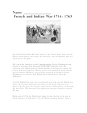 French and Indian War Activity
