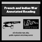 French and Indian War Annotated Reading