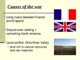 French and Indian War Basics