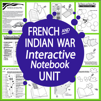 The French and Indian War Interactive Notebook... by Splash ...