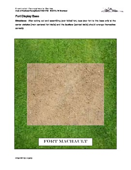 French and Indian War: Create Your Own PA Fort Machault Model