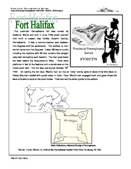French and Indian War: Create Your Own Pennsylvania Fort Halifax Model