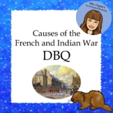 Causes of the French and Indian War DBQ  - 5th Grade Louis