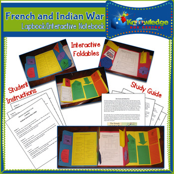 French and Indian War Lapbook