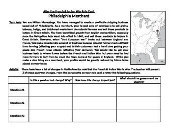 French and Indian War Notes Page for use with PowerPoint