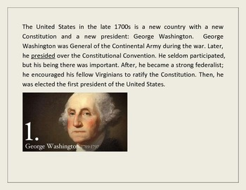 Lead by Example: George Washington, his Presidency, and his Cabinet