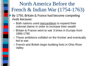 French and Indian War - Seeds of Revolution