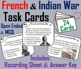 French and Indian War Task Cards  (Seven Years War)