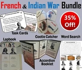 French and Indian War Task Cards and Activities Bundle (Seven Years War)