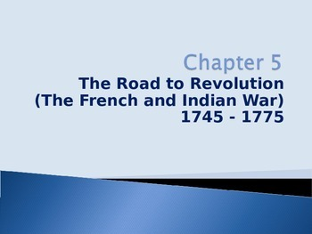 French and Indian War and British Taxation