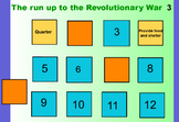 French and Indian and Revolutionary War Match Game Promethean Board Game