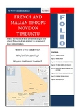 French and Malian Troops move on Timbuktu - FOLIO