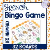 French bingo animal LES ANIMAUX