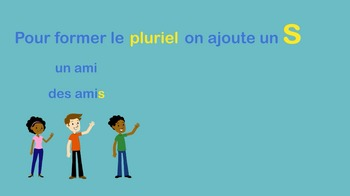 French Plural Video and Writing Activities