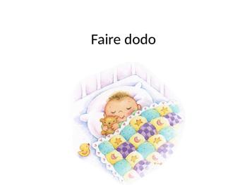 French baby talk--le langage enfantin