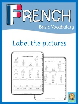 French label the pictures