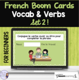 French beginner BOOM CARD BUNDLE SET 2