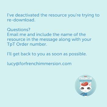 French behavior chart RAINBOW CHEVRON