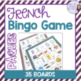 French bingo Easter and spring PÂQUES ET LE PRINTEMPS