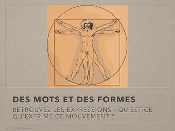 French body language / Le langage corporel français  TBI / SMARTBOARD