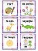 French book bin labels ***editable***