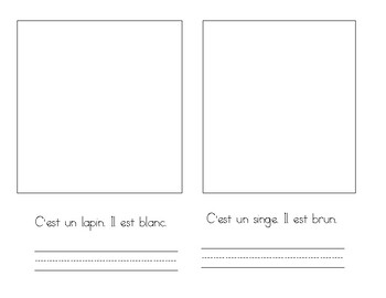 French booklet - in