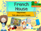 French bundle pack House PPT and booklets for beginners NO PREP