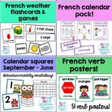 French calendar bundle