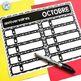 French calendar set | birthdays | days in school MODERN CHEVRON