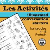 French chatroom: Les Activités
