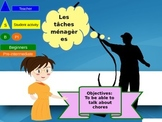 French chores household les taches ménagères freebie