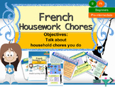 French housework chores, les tâches ménagères full lesson for beginners