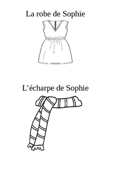 French clothes booklet