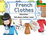 French clothes for beginners, les vêtements NO PREP