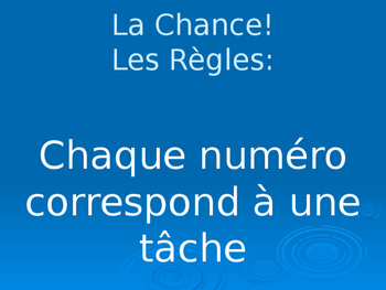 "French Calendar ""Jeopardy-like"" game with a twist!"
