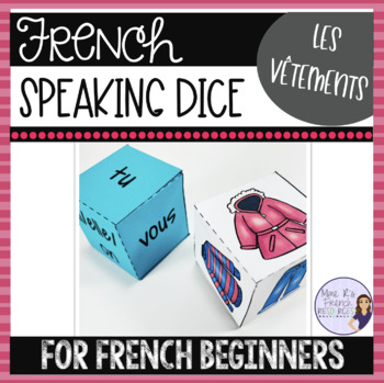 French clothing speaking activity ACTIVITÉ ORALE LES VÊTEMENTS