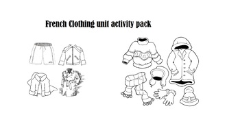 French clothing unit