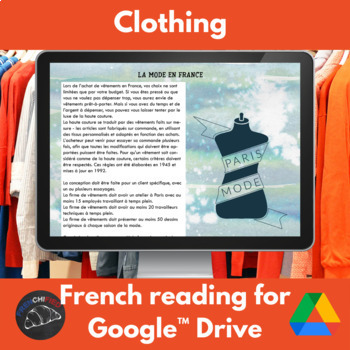 French clothing unit - Google Drive edition