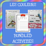 French colors bundle - Les couleurs