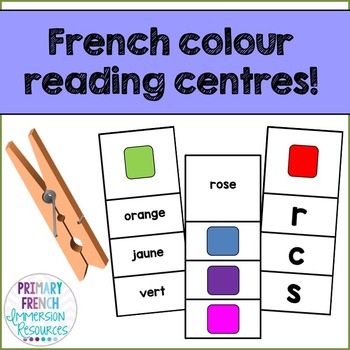 French colour reading centres