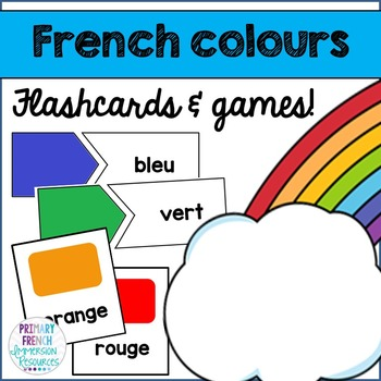 French colours - Flashcards and Games