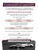 French grammar:comparatives + superlatives (adjectives, ad